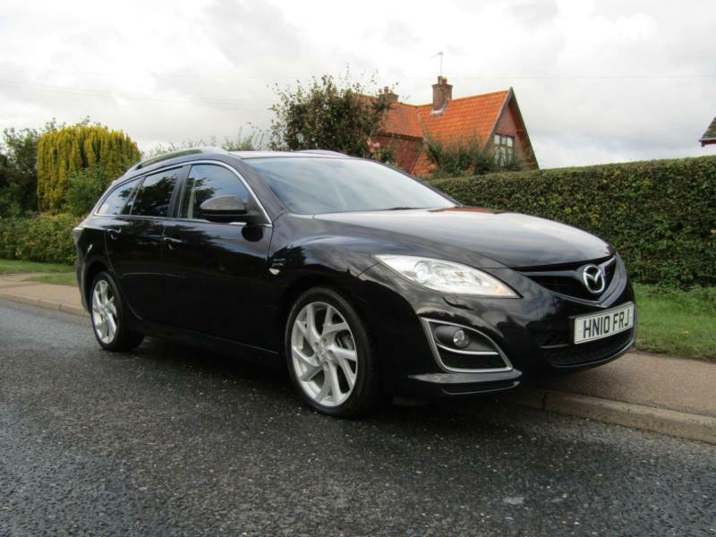 2010 Mazda 6 2.2d 180 BHP SPORT 5DR TURBO DIESEL ESTATE ** HIGH SPECIFICATION...