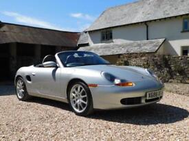 Porsche 986 Boxster S 3.2 - full Porsche service history from supplying dealer