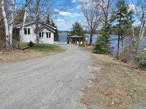 Over 400 ft lake frontage and over 2 acres of Privacy