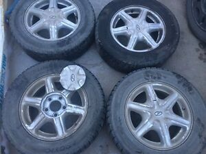 205/65R15 WINTER TIRES ON OLDS ALERO GRAND AM RIMS 5X114.3 $220