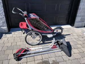 Remorque Chariot Cougar 1 avec accessoires