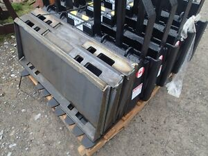 Skid Steer HD  Quick Attach Plates $160 each 2 for $300