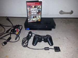 Console Playstation 2, ps2 avec Grand theft auto San Andreas