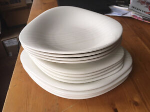 Villeroy and Boch Dune Lines 4 pcs dinerware