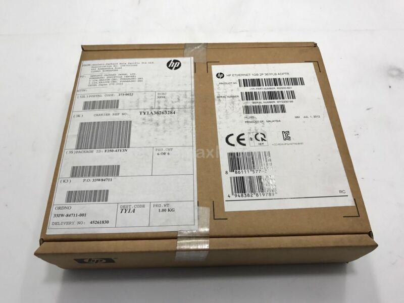 652500-B21 - HPE Ethernet 1Gb 2-Port 361FLB Adapter