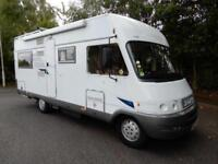 Hymer Classic B655 2004 6 Berth 2004 Rear Fixed Bed Motorhome For Sale