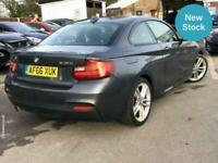 2016 BMW 2 Series 218d [150] M Sport 2dr COUPE Diesel Manual