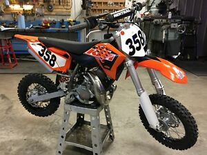 ktm 50 sx like new