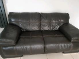 Sofa, swivel chair and ottoman