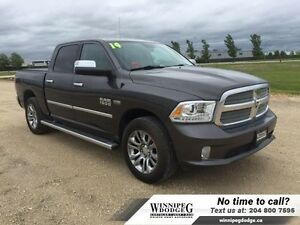 2014 Ram 1500 Laramie Longhorn Crew 4x4 *LOCAL TRADE*