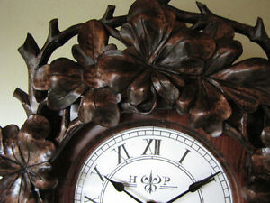 Hand carved, unique wall clock! Only one ever made!!!! London Ontario image 4