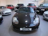 Porsche 911 3.4 996 Carrera 4 AWD 2Dr Coupe, 2000, Black, Sat Nav PCM, Superb