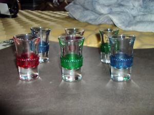50'S/60'S VINTAGE SHOT GLASSES