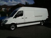 Mercedes-Benz Sprinter 313 Cdi Lwb 4.3 Meter Van,Drive Away No Deposit Required,