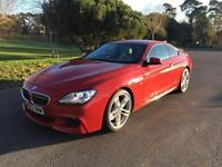 2013 63 BMW 6 SERIES 3.0 640D M SPORT 2D AUTO 309 BHP DIESEL