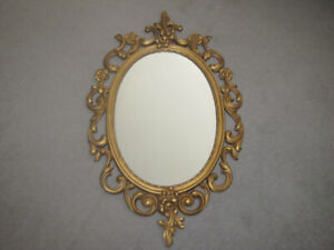 Vintage style Bathroom/ living room /bedroom gold mirror