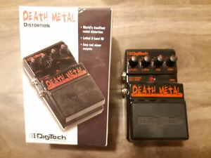 DigiTech Death Metal Effect Pedal