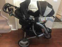 Graco trekko jogging stroller and 2013 car seat