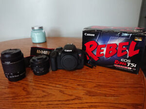 Canon T5i w/18x55 and 50mm portrait lens