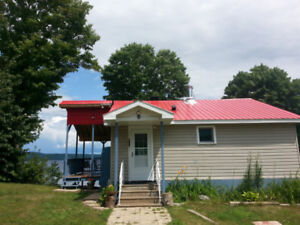 WATERFRONT COTTAGE RENTAL - MACKEY, ONTARIO - NEWLY RENOVATED
