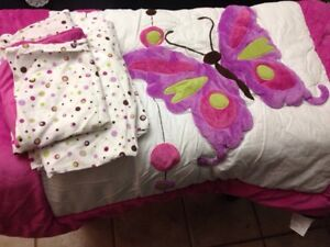 Butterfly 4piece comforter set