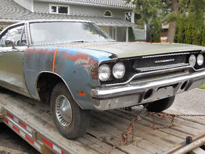 1970 Plymouth Satellite For Sale Prince George British Columbia image 5