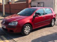 Volkswagen Golf 1.6 2003 MK 4 May 19 MOT 5 door cheap reliable car