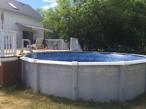 18' above ground pool for sale Kingston Kingston Area image 2