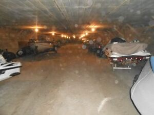 CHEAP SECURE INDOOR BOAT AND CAR STORAGE $450 HOLE WINTER