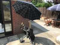 Golf club set, plus trollies for sale.