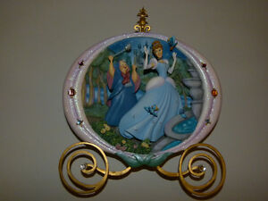 3D Cinderella Plate with Fairy Godmother