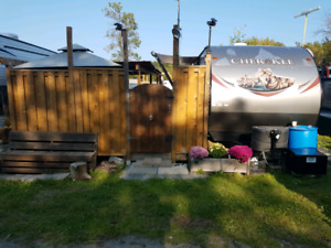 Travel trailer 2015 Forest River Cherokee 304 BH as cottage
