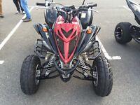 Yamaha raptor 700r special edition 2012 road legal quad bike