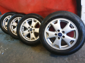 Original ford transit connect alloy wheels 2004 to 2020
