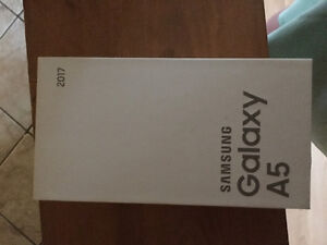 2017 Samsung 5A brand new With Eastlink