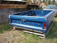 Early 70's Mercury pickup box with tail gate