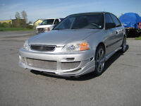 Complet 4P Urathaine Body kit for 96-98 honda civic