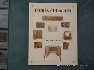 Radios Of Canada Softcover Book (brand new)