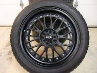 4 mags RTX 18 po et 4 pneus Michelin 255/45/18