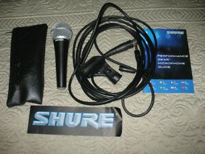 Shure PG58 Vocal Microphone