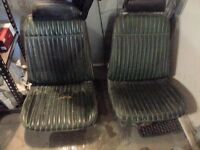 factory bucket seats for 68-72 A body cars