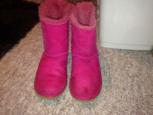 Pink Bailey bow uggs boots St. John's Newfoundland image 3