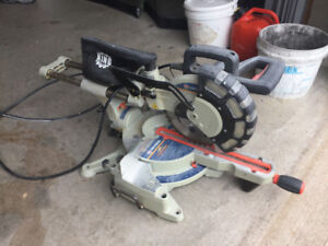 "King 10"" compound sliding miter saw with Twin laser guide"