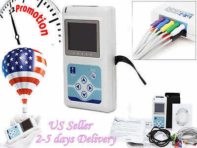 Newest 12-channel Ecgekg Holter Systemrecorder Monitor Analyzer Software Fda
