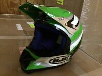 HJC Full Face Helmet Sz Medium