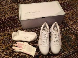 Nike Golf Women's Air Dormie II 6.5 M Leather New Shoes Glove
