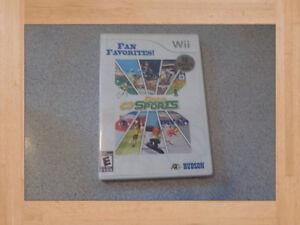 Jeux Wii / Gens seuls sans enfant seulement / Livraison gratuite