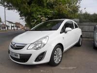 13 (13) VAUXHALL CORSA 1.2 ENERGY 3DR ONLY 33,100 MILES FROM NEW