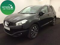£189.88 PER MONTH NISSAN QASHQAI 1.5dCi 2WD N-TEC 5 DOOR HATCH DIESEL MANUAL