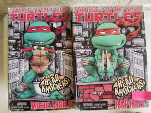 TMNT Teenage Mutant Ninja Turtles Bobble heads